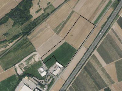 Große Gewerbeansiedlung in Saulheim